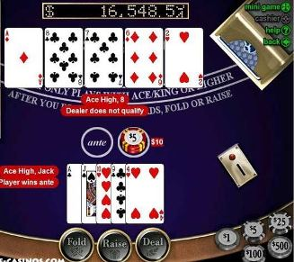 Caribbean stud poker strategy advanced small