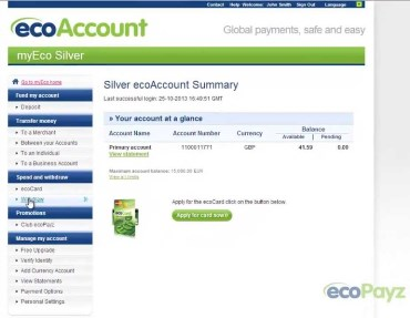 Ecopayz Online Casinos Withdrawals2