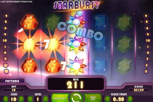 startburst slot game