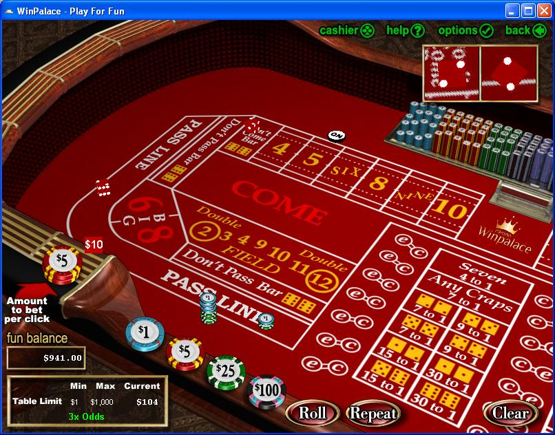 How to win a lot of money at craps