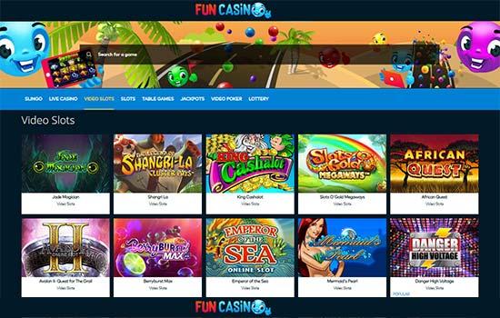 fun casino games