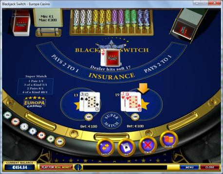 europa 777 casino instructions