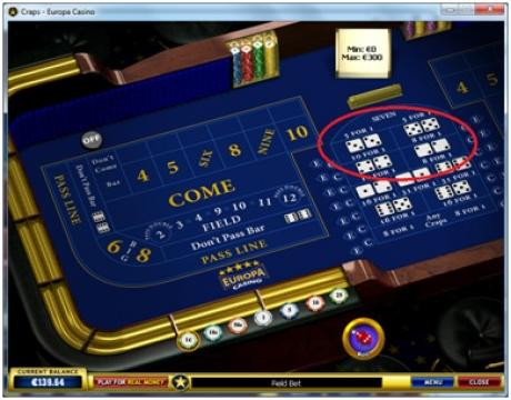 craps online rules hard and easy bet