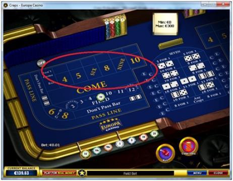 craps online rules buy bets
