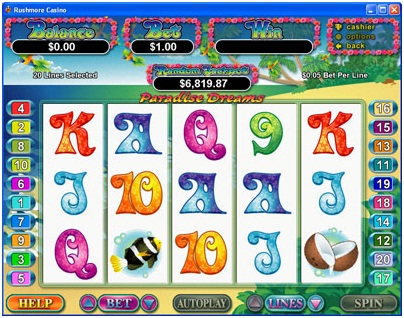 Paradise Dreams™ Slot Machine Game to Play Free in Realtime Gamings Online Casinos